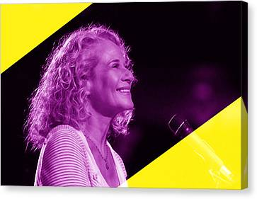 Carole King Collection Canvas Print by Marvin Blaine
