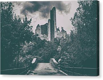 Nature Scene Canvas Print - Central Park by Martin Newman