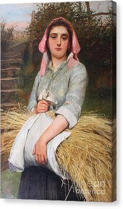 The Gleaners Canvas Print - Charles Sillem Lidderdale by MotionAge Designs