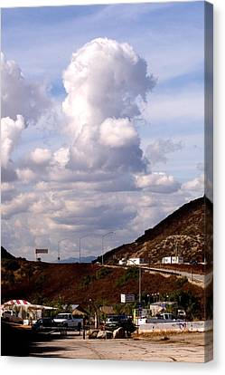Clouds Canvas Print by Clayton Bruster