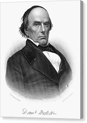 Daniel Webster (1782-1852) Canvas Print by Granger