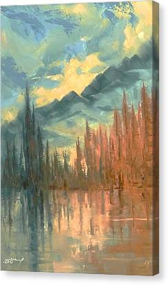 Earth Light Reflection Series Canvas Print