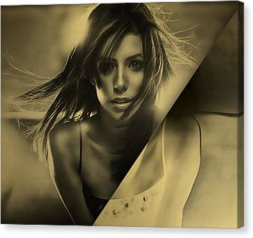 Eva Longoria Collection Canvas Print