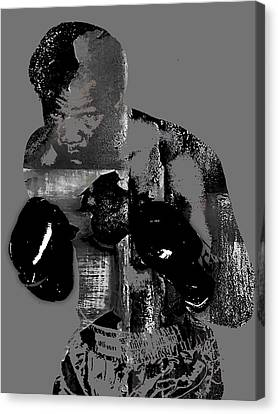 George Foreman Collection Canvas Print by Marvin Blaine