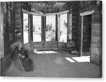 7 Ghosts At Animas Forks Canvas Print by Angie Wingerd