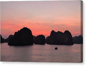 Halong Bay - Vietnam Canvas Print by Joana Kruse