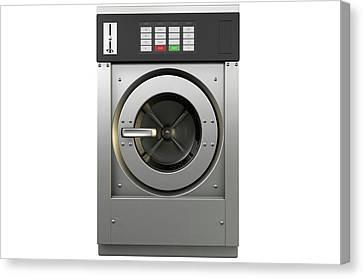 Industrial Washing Machine Canvas Print