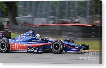 High Speed Indycar Canvas Print by Douglas Sacha