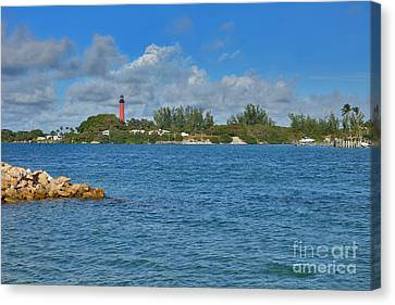 7- Jupiter Lighthouse Canvas Print by Joseph Keane