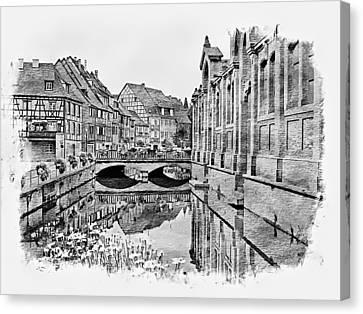 La Petite France - Strasbourg, France Canvas Print by Joseph Hendrix