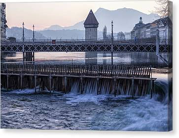 Lucerne - Switzerland Canvas Print by Joana Kruse