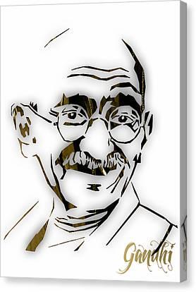 Mahatma Gandhi Collection Canvas Print