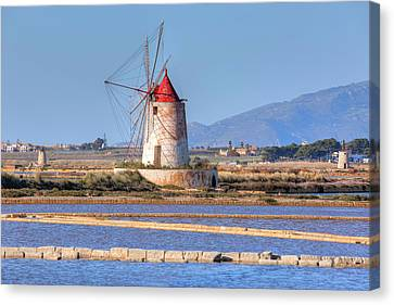 Sicily Canvas Print - Marsala - Sicily by Joana Kruse