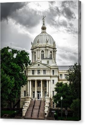 Mc Lennan County Courthouse - Waco Texas Canvas Print