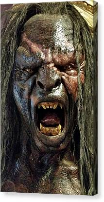 New Zealand - Urik-hai, Lord Of The Rings Canvas Print by Jeffrey Shaw