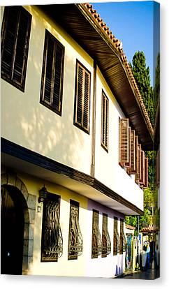Ottoman Houses Canvas Print