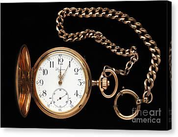 Pocket Watch Canvas Print by Helmut Meyer zur Capellen