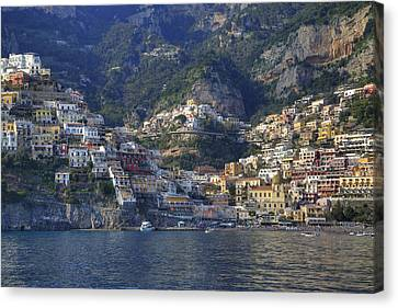 Positano - Amalfi Coast Canvas Print by Joana Kruse