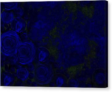 Roses Canvas Print by Sandrine Kespi