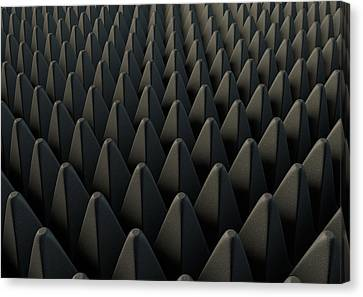Sound Proof Foam Canvas Print by Allan Swart