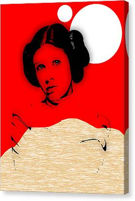 Movie Art Canvas Print - Star Wars Princess Leia Collection by Marvin Blaine