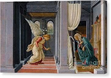 The Annunciation Canvas Print by Sandro Botticelli