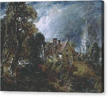 The Glebe Farm Canvas Print by John Constable