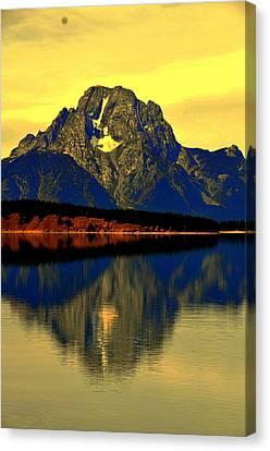 Yellowstone Park  Canvas Print by Aron Chervin
