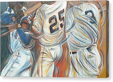 700 Homerun Club Canvas Print by Redlime Art