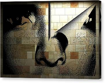 Digital Art Canvas Print by HollyWood Creation By linda zanini