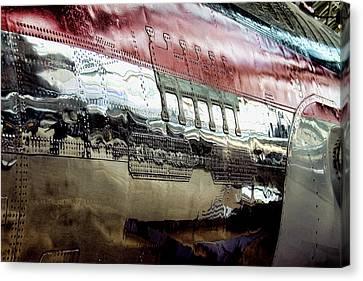 737 Rivets Canvas Print by David Patterson