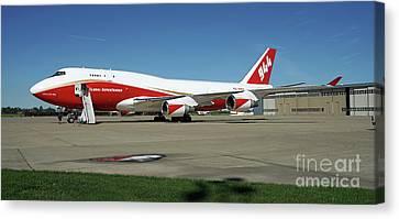 747 Supertanker Canvas Print