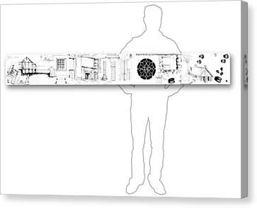 7.8.usa-3-horizontal-with-figure Canvas Print