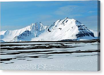 79 Degrees North B Canvas Print by Terence Davis