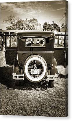 1924 Buick Duchess Antique Vintage Photograph Fine Art Prints 118 Canvas Print by M K  Miller
