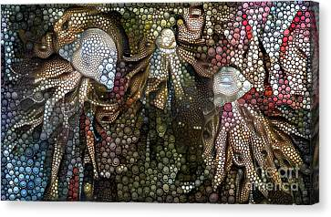 Jellyfish Canvas Print - Abstract Jellyfish by Amy Cicconi