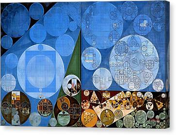 Abstract Painting - Nero Canvas Print by Vitaliy Gladkiy