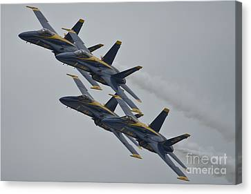 Navy Canvas Print - Blue Angels by Celestial Images