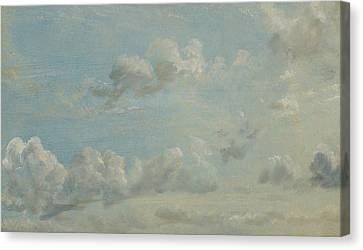 British Title Cloud Study Canvas Print by John Constable