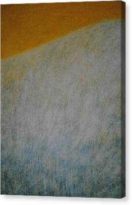 Canvas Print featuring the painting Calm Mind by Kyung Hee Hogg