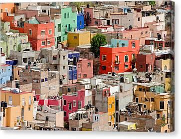 Guanajuato Canvas Print - Guanajuato, Mexico. by Rob Huntley