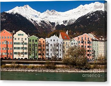 Innsbruck Canvas Print by Andre Goncalves