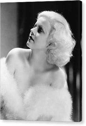 Jean Harlow (1911-1937) Canvas Print by Granger
