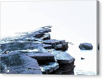Kimmeridge Bay - England Canvas Print