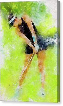 Michelle Wie Canvas Print