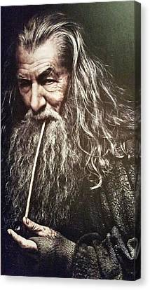 New Zealand - Gandalf, Lord Of The Rings Canvas Print by Jeffrey Shaw