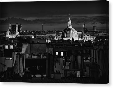 Paris Canvas Print by Hayato Matsumoto