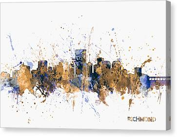 Richmond Virginia Skyline Canvas Print