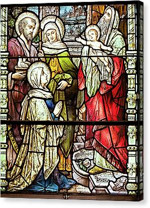 Saint Anne's Windows Canvas Print
