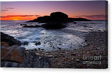 Canvas Print featuring the photograph Second Valley Sunset by Bill Robinson